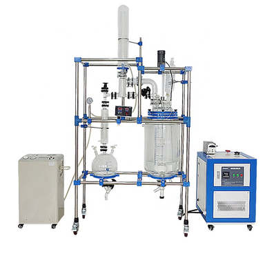 Customized 50l multifunctional Jacketed Glass Reactor