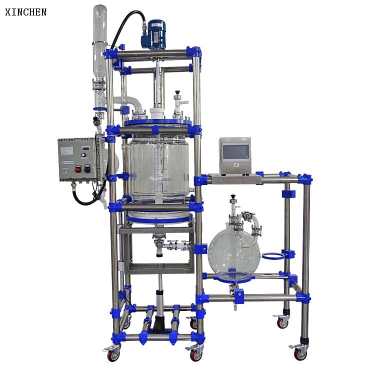 50L Ultrasonic filtration reactor