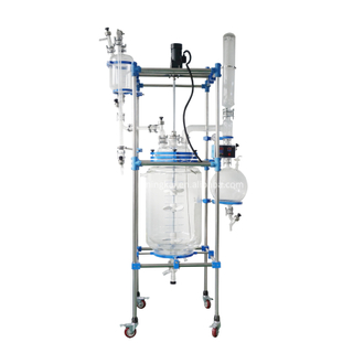 10l 20l 30l 50l 100l jacketed Glass Reactor
