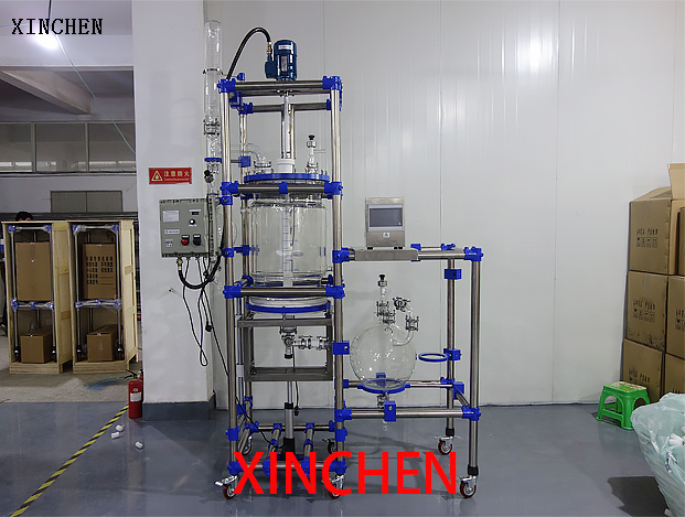 50L Ultrasonic filtration reactor